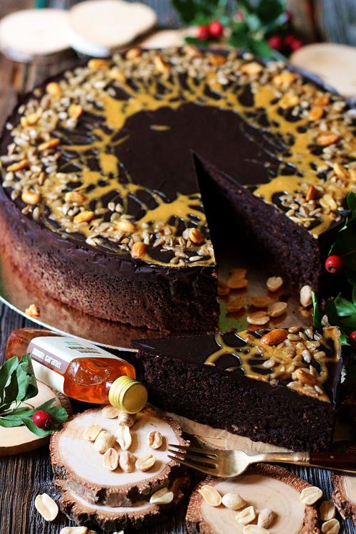 Brownie fistaszkowe weganskie ciasto na zamowienie wrocław